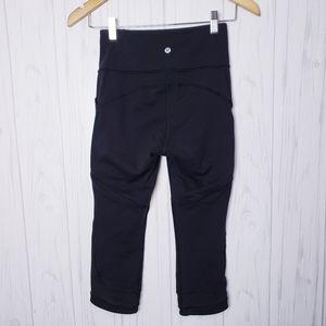 Lululemon Fit Physique Crop Leggings Black